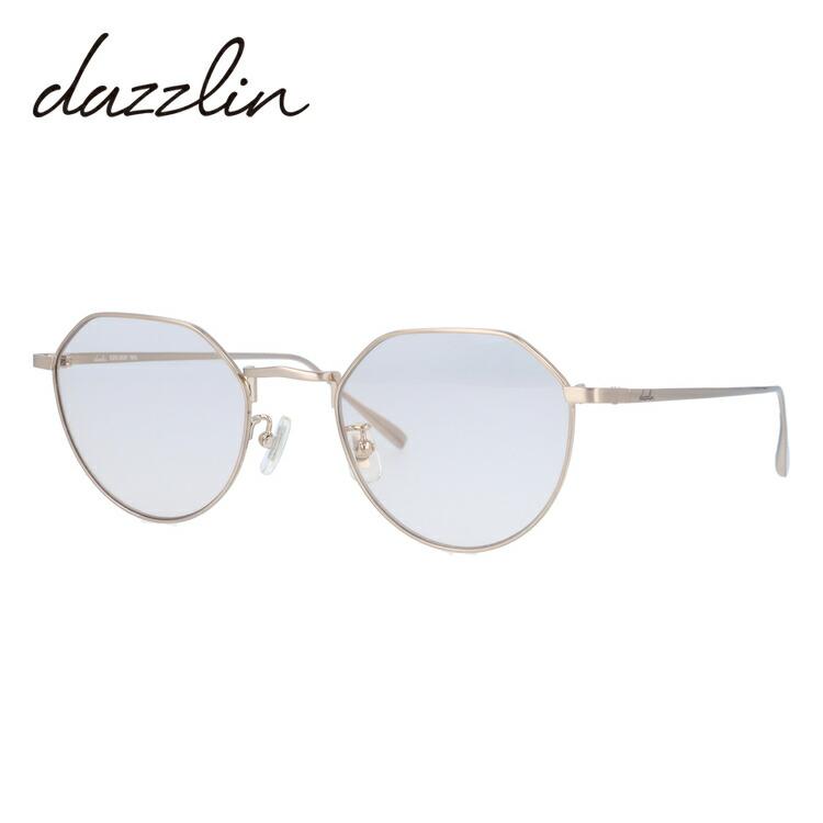 ダズリン サングラス dazzlin DZS 3537-1 50サイズ ボストン型 レディース 女性用 アイウェア UVカット 紫外線対策 UV対策 おしゃれ ギフト