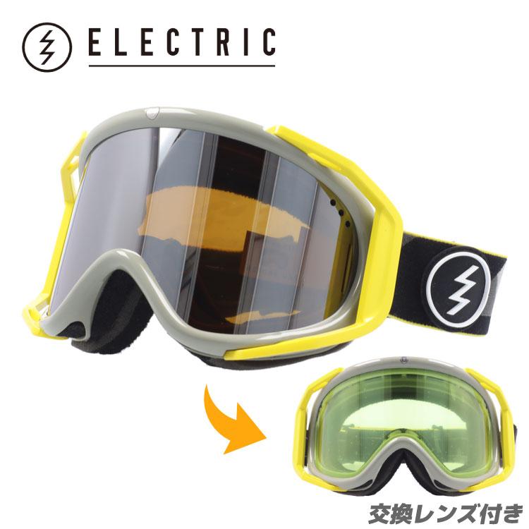 エレクトリック ゴーグル 国内正規品 ELECTRIC RIG リグ DUB BRONZE/SILVER CHROME EG6414402_BSRC アジアンフィット (ジャパンフィット) スキー スノーボード スノーゴーグル 国内正規品 ミラー