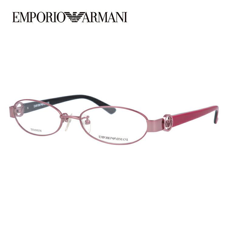 エンポリオアルマーニ メガネ フレーム 眼鏡 度付き 度なし 伊達メガネ だて ダテ メンズ レディース EMPORIO ARMANI EA1129J B3E 52サイズ オーバル型 ブランド ロゴ アイコン UVカット 紫外線 UV対策 おしゃれ ギフト