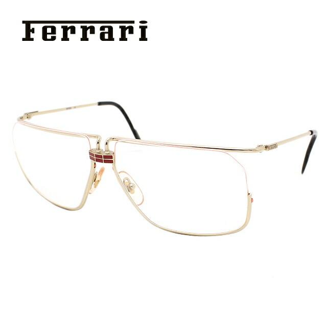 Ferrari フェラーリ 伊達メガネ 眼鏡 F18 524 59サイズ