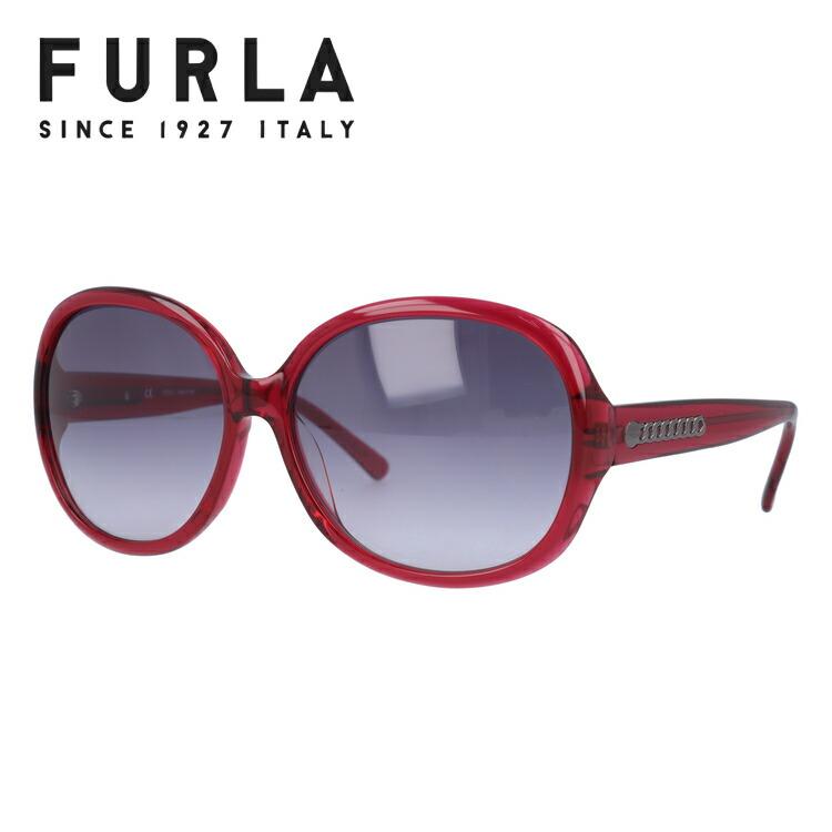 度付き対応 フルラ FURLA セール特別価格 サングラス カラーレンズ レディース アイウェア UVカット 紫外線 UV対策 国内正規品 SU4742G おしゃれ ギフト CASSIA 市場 紫外線対策 61サイズ 03GB 女性用 アジアンフィット