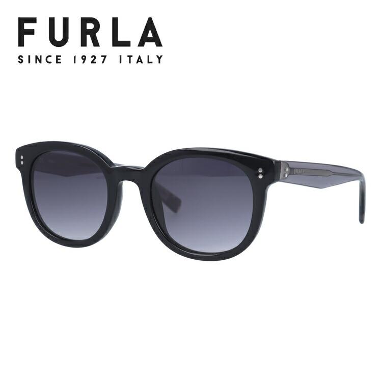 フルラ サングラス レギュラーフィット FURLA SFU047 0700 49サイズ ウェリントン型 レディース 女性用 UVカット 紫外線対策 UV対策 おしゃれ ギフト 【国内正規品】
