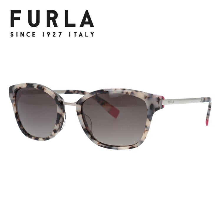 フルラ サングラス アジアンフィット FURLA SFU115J 0ACL 51サイズ ウェリントン型 レディース 女性用 UVカット 紫外線対策 UV対策 おしゃれ ギフト 【国内正規品】