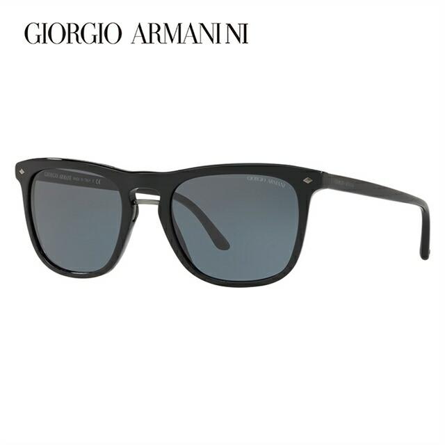 ジョルジオアルマーニ サングラス 2018年新作 アジアンフィット GIORGIO ARMANI AR8107F 5017R5 53サイズ 国内正規品 ウェリントン メンズ レディース