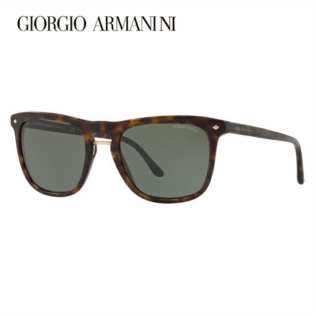 ジョルジオアルマーニ サングラス 2018年新作 アジアンフィット GIORGIO ARMANI AR8107F 508931 53サイズ 国内正規品 ウェリントン メンズ レディース