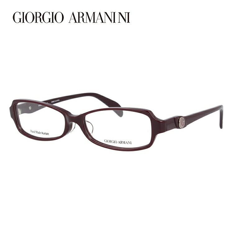 GIORGIO ARMANI ジョルジオ アルマーニ 伊達メガネ 眼鏡 GA2043J RYY 53サイズ セル/スクエア/メンズ 【スクエア型】