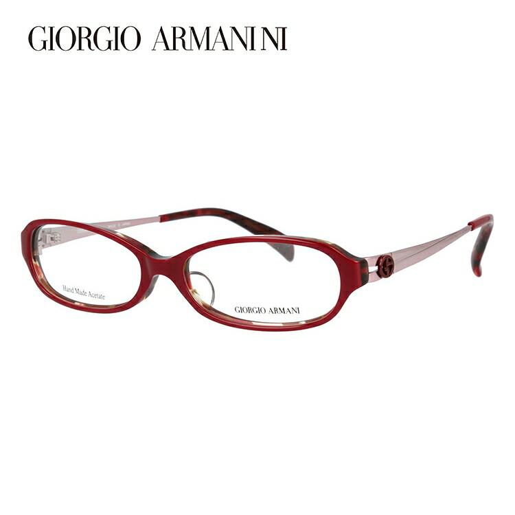 ジョルジオアルマーニ メガネ フレーム 眼鏡 度付き 度なし 伊達メガネ だて ダテ メンズ レディース アジアンフィット GIORGIO ARMANI GA2044J 5T5 52サイズ オーバル型 ブランド ロゴ アイコン UVカット 紫外線 UV対策 おしゃれ ギフト