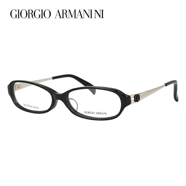 ジョルジオアルマーニ メガネ フレーム 眼鏡 度付き 度なし 伊達メガネ だて ダテ メンズ レディース アジアンフィット GIORGIO ARMANI GA2044J B6V 52サイズ オーバル型 ブランド ロゴ アイコン UVカット 紫外線 UV対策 おしゃれ ギフト