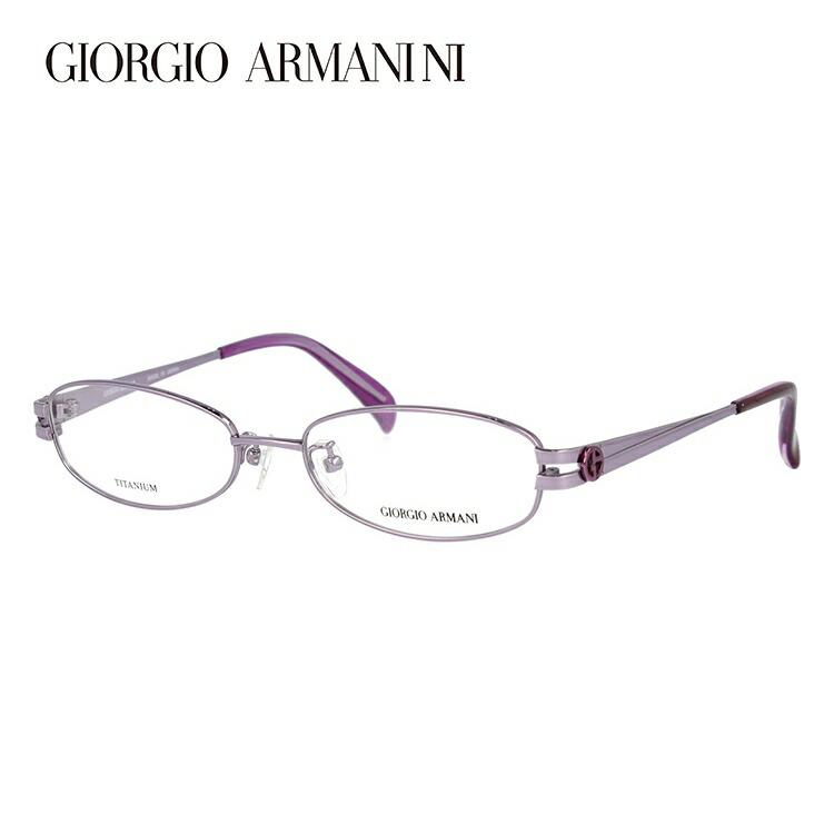 ジョルジオアルマーニ メガネ フレーム 眼鏡 度付き 度なし 伊達メガネ だて ダテ メンズ レディース GIORGIO ARMANI GA2672J 37M 52サイズ オーバル型 ブランド ロゴ アイコン UVカット 紫外線 UV対策 おしゃれ ギフト