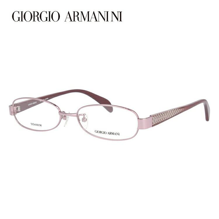 GIORGIO ARMANI ジョルジオ アルマーニ 伊達メガネ 眼鏡 GA2679J 35J 52サイズ チタン/オーバル/レディース