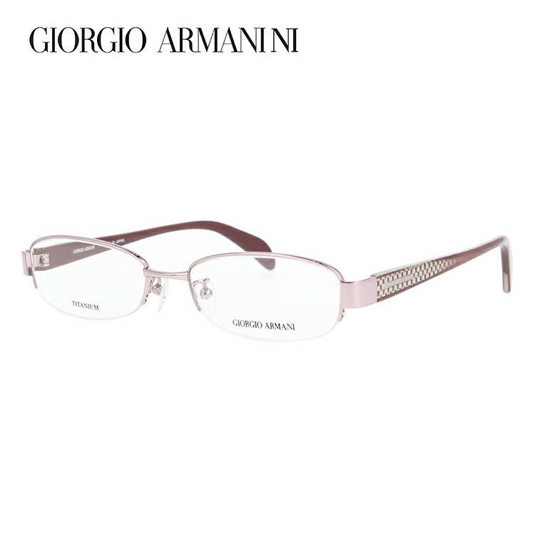 GIORGIO ARMANI ジョルジオ アルマーニ 伊達メガネ 眼鏡 GA2680J 35J 51サイズ チタン/ハーフリム/スクエア/レディース 【スクエア型】