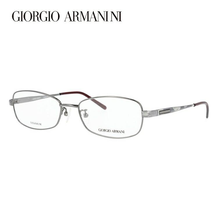 GIORGIO ARMANI ジョルジオ アルマーニ 伊達メガネ 眼鏡 GA2695J 6DS 52サイズ チタン/スクエア/メンズ 【スクエア型】