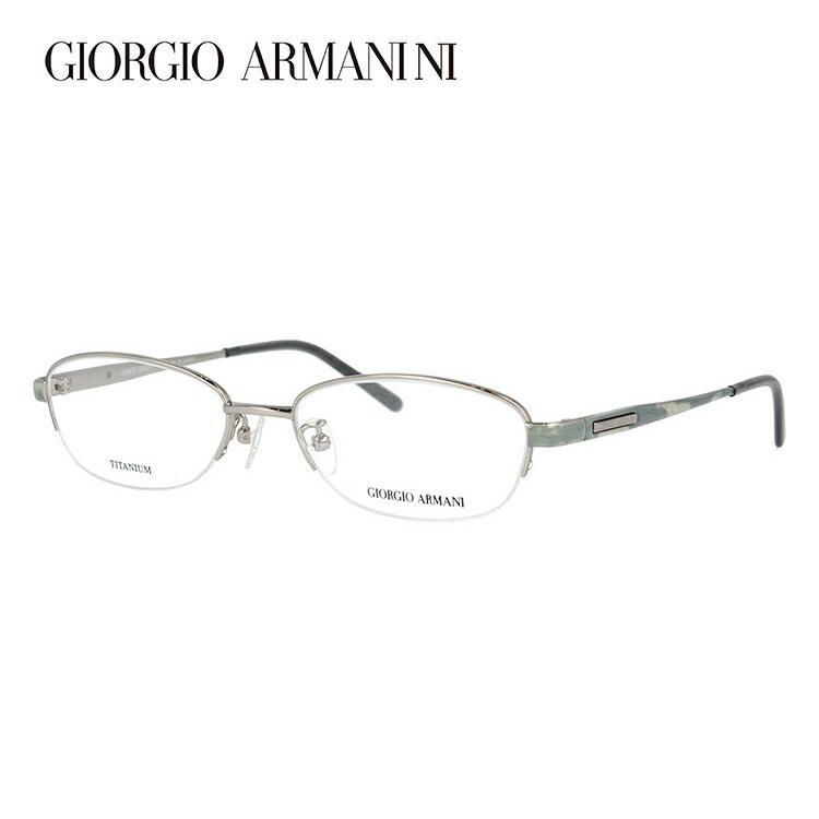 GIORGIO ARMANI ジョルジオ アルマーニ 伊達メガネ 眼鏡 GA2696J YVF 51サイズ チタン/ハーフリム/オーバル/メンズ/ユニセックス/レディース