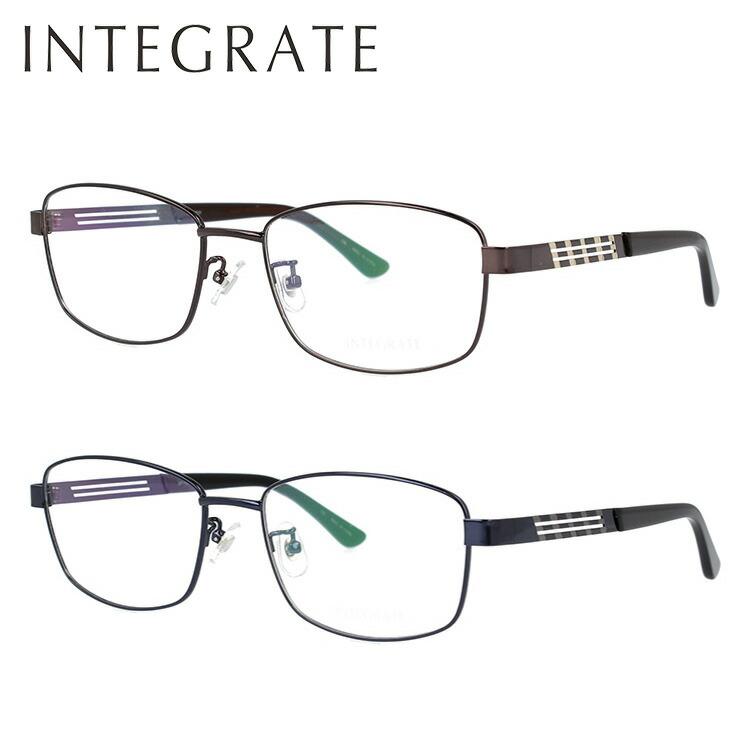 インテグレート メガネフレーム 伊達メガネ INTEGRATE IGF7101 全2カラー 58サイズ スクエア型
