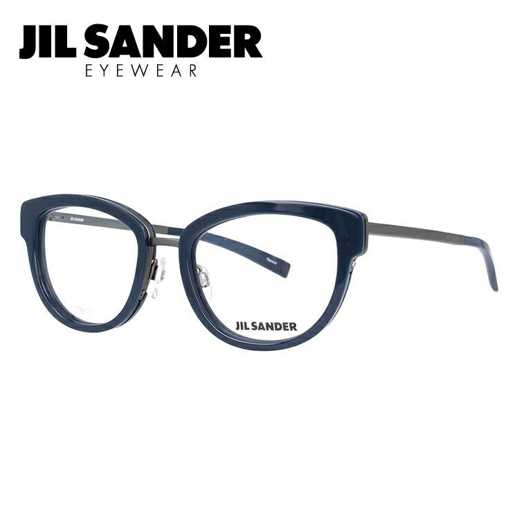 ジルサンダー 伊達メガネ 眼鏡 JIL SANDER J2005-B 52サイズ 調整可能ノーズパッド レディース