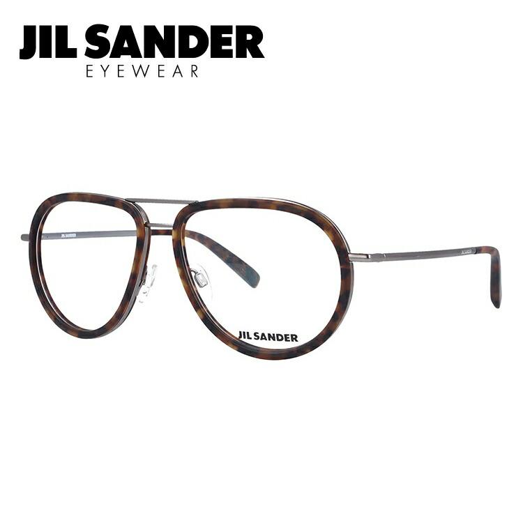 ジルサンダー レディース 伊達メガネ 眼鏡 JIL SANDER J2008-D J2008-D 57サイズ メンズ 調整可能ノーズパッド メンズ レディース, モガミグン:71f71623 --- itxassou.fr