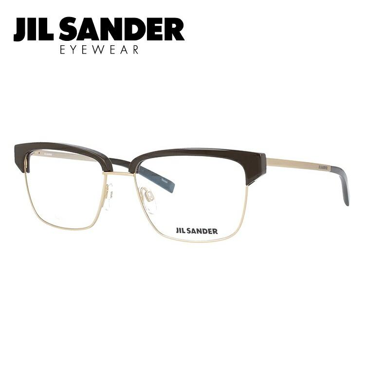 ジルサンダー 伊達メガネ 眼鏡 JIL SANDER J2011-C 56サイズ 調整可能ノーズパッド メンズ レディース 【ブロー型】
