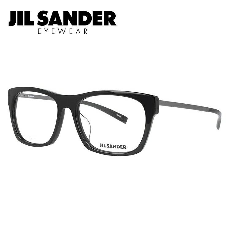 ジルサンダー 伊達メガネ 眼鏡 JIL SANDER J4006-K 55サイズ アジアンフィット メンズ レディース 【ウェリントン型】