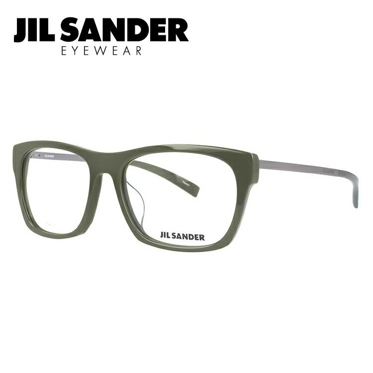 ジルサンダー 伊達メガネ 眼鏡 JIL SANDER J4006-L 55サイズ アジアンフィット メンズ レディース 【ウェリントン型】