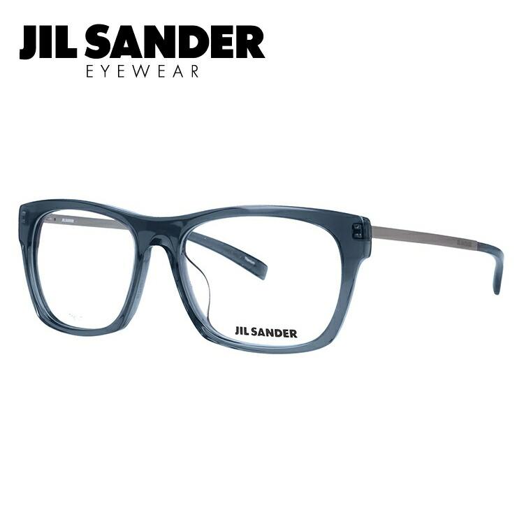 ジルサンダー 伊達メガネ 眼鏡 JIL SANDER J4006-M 55サイズ アジアンフィット メンズ レディース 【ウェリントン型】