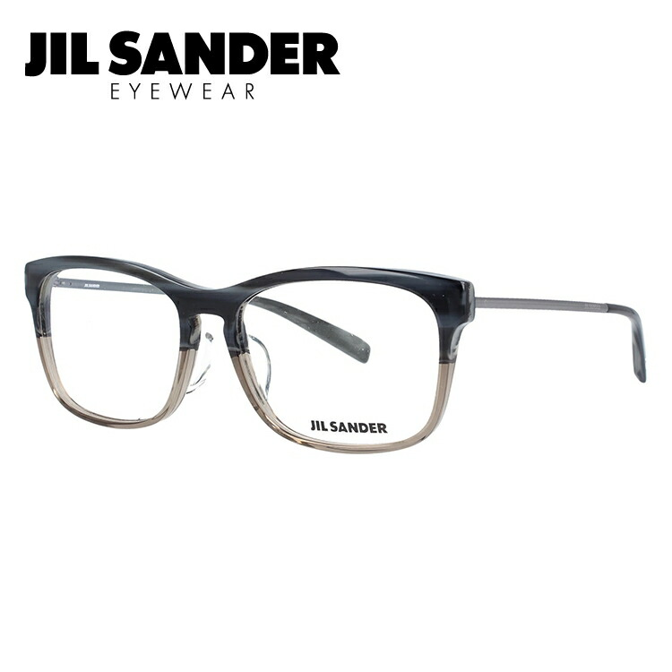 ジルサンダー SANDER 伊達メガネ レディース 眼鏡 55サイズ JIL SANDER J4011-B 55サイズ レギュラーフィット メンズ レディース【スクエア型】, MIYABI公式オンラインショップ:5b40eae6 --- itxassou.fr
