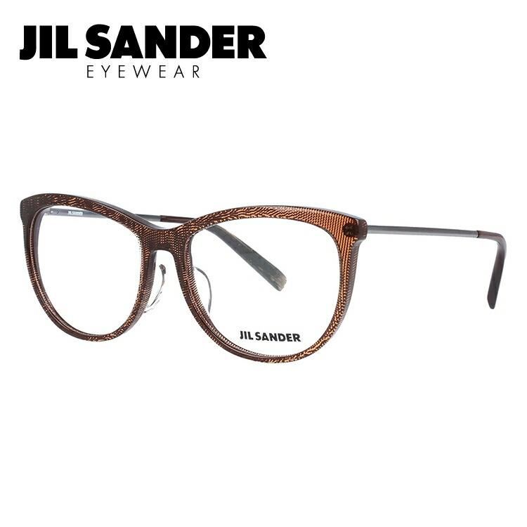 ジルサンダー 伊達メガネ 眼鏡 JIL SANDER J4012-B 54サイズ レギュラーフィット レディース 【ウェリントン型】