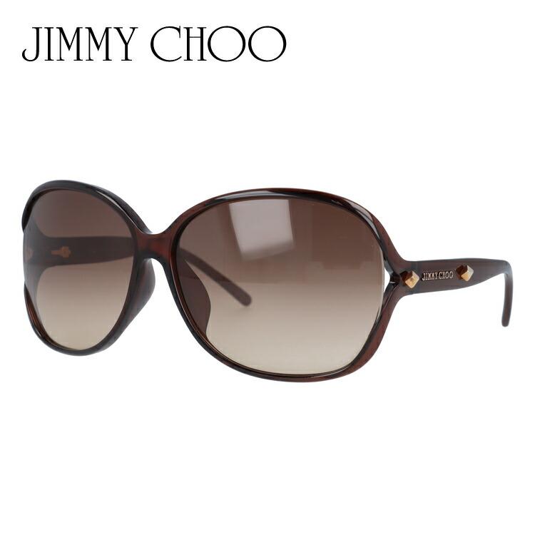 ジミーチュウ サングラス アジアンフィット JIMMY CHOO SOL FS TBG/D8 64サイズ 国内正規品 バタフライ メンズ レディース UVカット