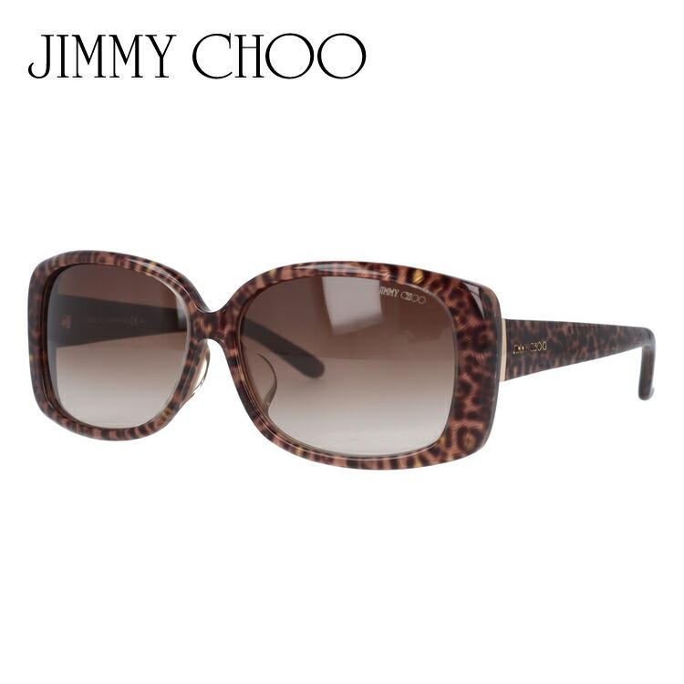 ジミーチュウ サングラス アジアンフィット JIMMY CHOO MALINDA/FS XA5/JD 58サイズ スクエア レディース
