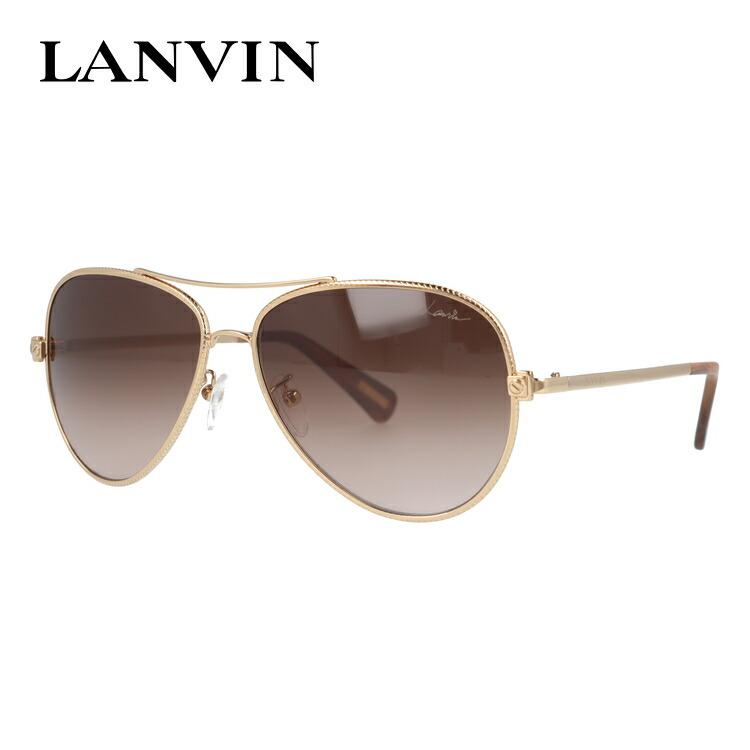 ランバン パリス サングラス LANVIN PARIS SLN068 0300 58サイズ 国内正規品 ティアドロップ(ダブルブリッジ) メンズ レディース