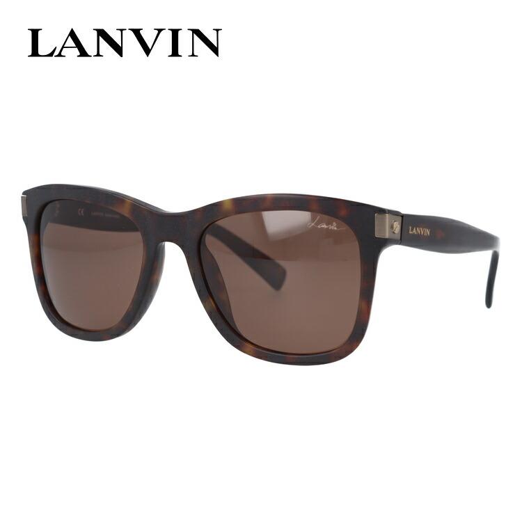 ランバン パリス サングラス レギュラーフィット LANVIN PARIS SLN627 0743 53サイズ ウェリントン型 メンズ レディース 【国内正規品】