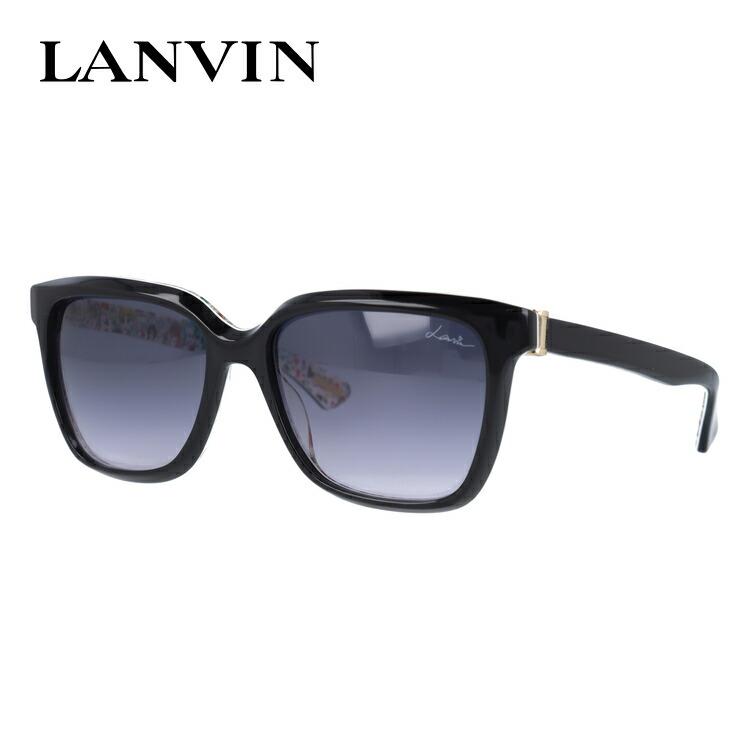 ランバン パリス サングラス レギュラーフィット LANVIN PARIS SLN676V 0APA 55サイズ 国内正規品 ウェリントン メンズ レディース