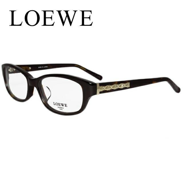 LOEWE ロエベ 伊達メガネ 眼鏡 VLW839J-722 53 フルリム/セル/スクエア/レディース 【スクエア型】