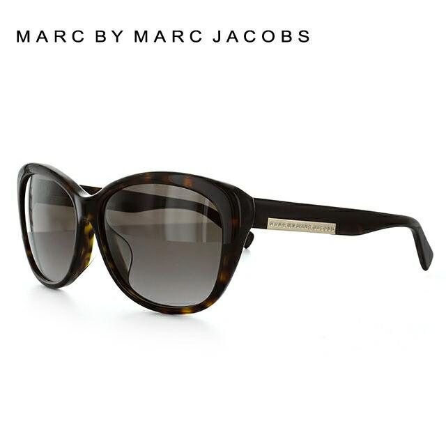 マークバイマークジェイコブス サングラス MARC BY MARC JACOBS MMJ 445FS 086/HA 59 ダークハバナ アジアンフィット べっこう スクエア型 レディース 女性用 UVカット 紫外線対策 UV対策 おしゃれ ギフト 【国内正規品】