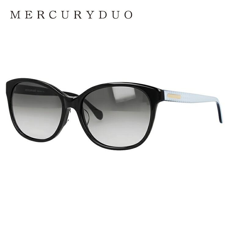 マーキュリーデュオ サングラス アジアンフィット MERCURYDUO MDS 9019-1 57サイズ フォックス レディース