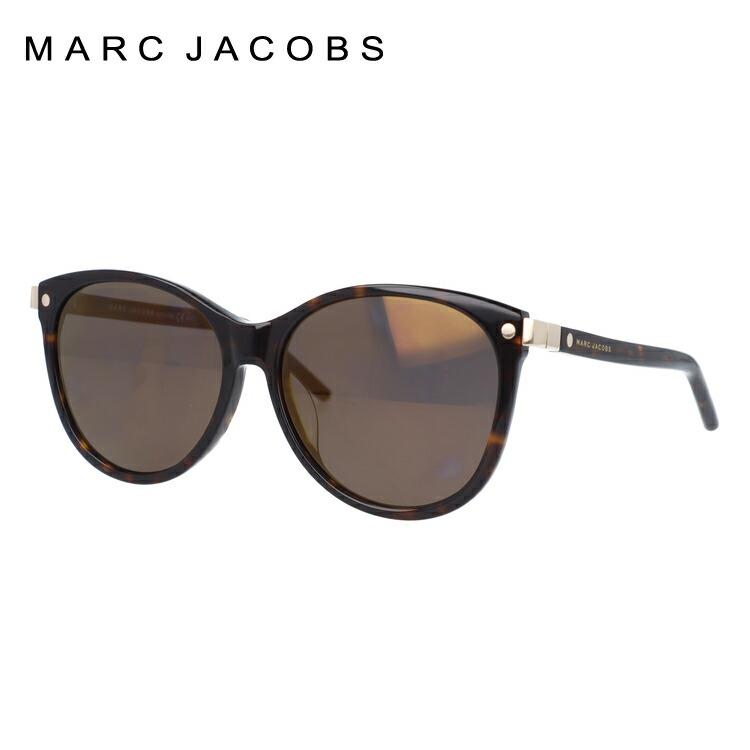 マークジェイコブス サングラス ミラーレンズ アジアンフィット MARC JACOBS MARC82/FS 086/HJ 57サイズ フォックス型 レディース 女性用 UVカット 紫外線対策 UV対策 おしゃれ ギフト 【国内正規品】