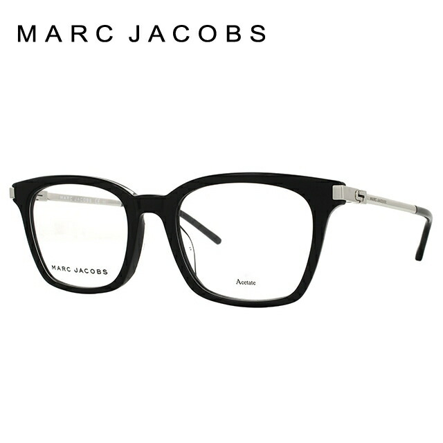 マークジェイコブス MARC JACOBS メガネ フレーム 眼鏡 度付き 度なし 伊達 アジアンフィット MARC155F CSA 52サイズ ウェリントン型 ウェリントン型 レディース 女性用 アイウェア UVカット 紫外線対策 UV対策 おしゃれ ギフト 【国内正規品】