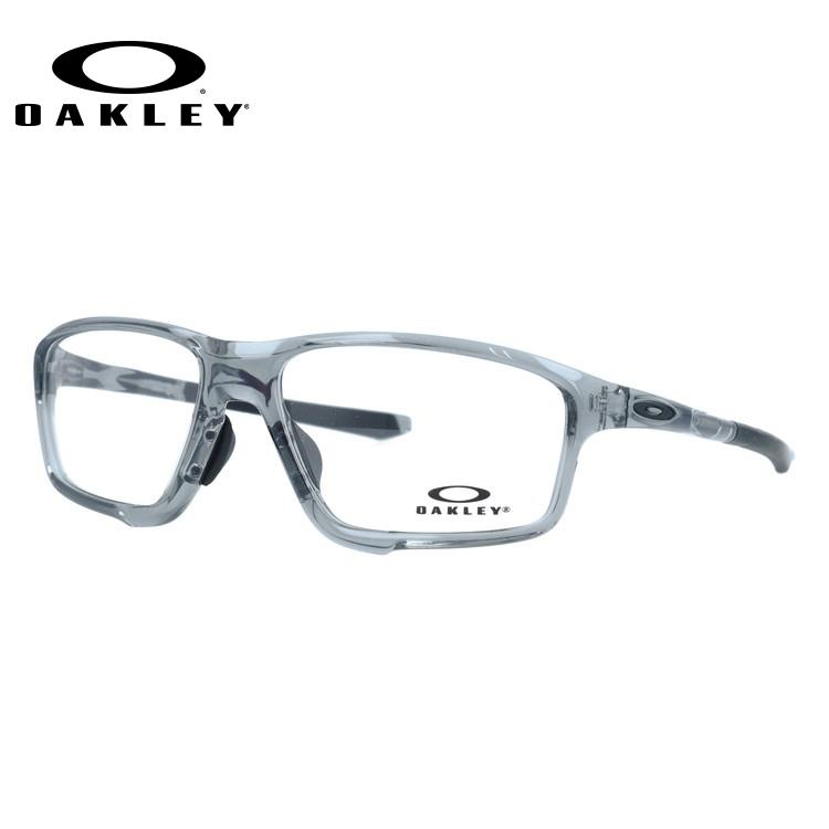 オークリー 伊達メガネ 眼鏡 OAKLEY 国内正規品 クロスリンクゼロ OX8080-0458 58 グレーシャドー アジアンフィット CROSSLINK ZERO メンズ レディース スポーツ