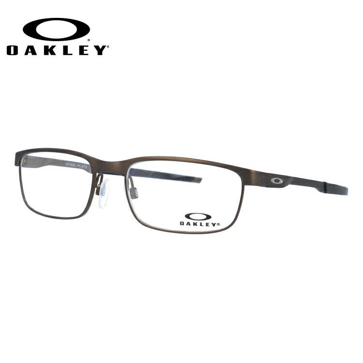 オークリー 伊達メガネ 眼鏡 国内正規品 スチールプレート OAKLEY STEEL PLATE OX3222-0454 54サイズ スクエア メンズ レディース 【スクエア型】