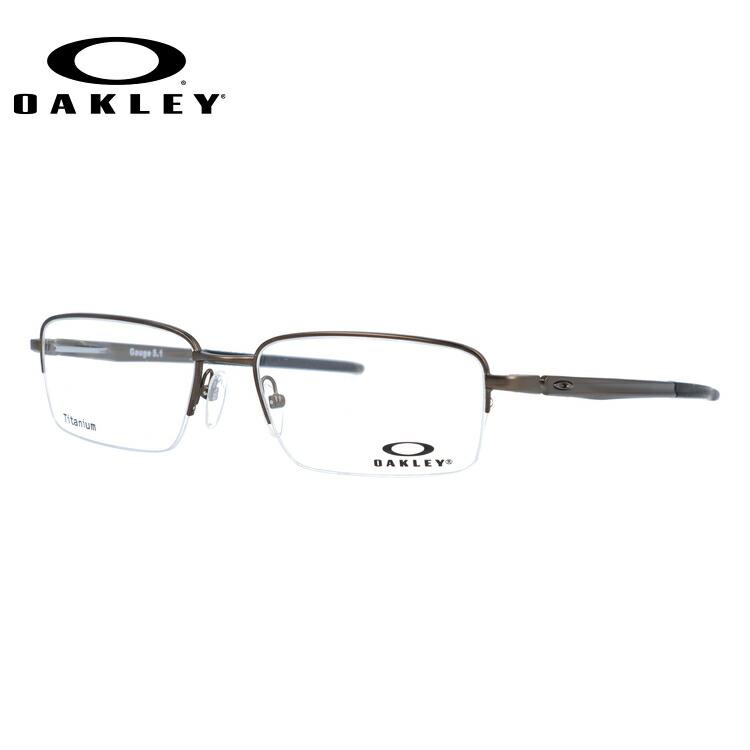 オークリー 伊達メガネ 眼鏡 国内正規品 ゲージ 5.1 OAKLEY GAUGE 5.1 OX5125-0254 54サイズ スクエア メンズ レディース 【スクエア型】