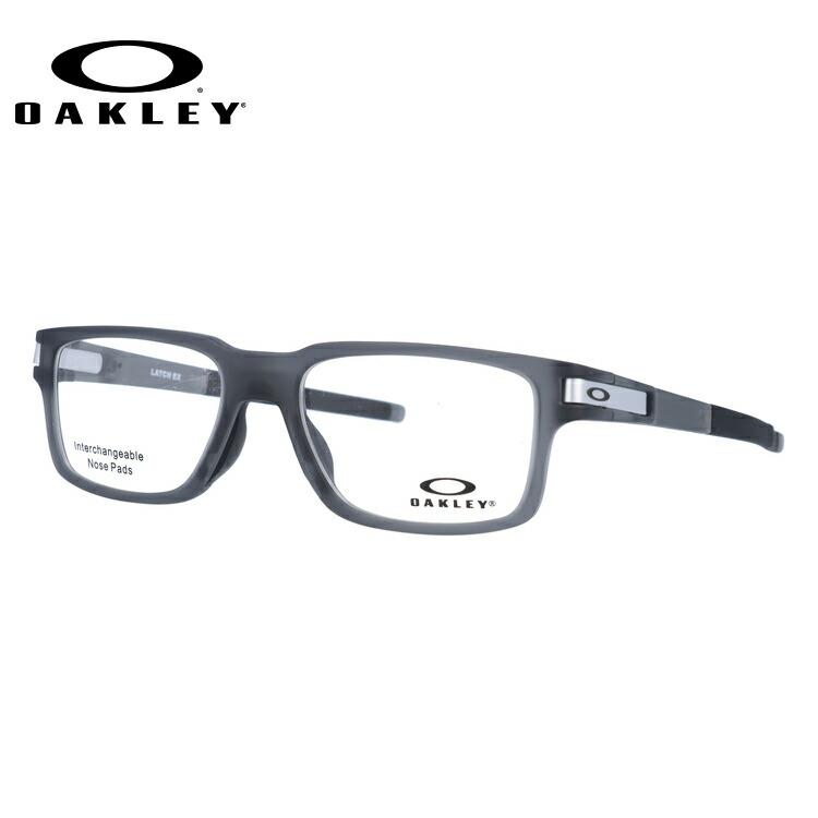 オークリー 伊達メガネ 眼鏡 国内正規品 ラッチ EX TrueBridgeTechnology(トゥルーブリッジテクノロジー) OAKLEY LATCH EX OX8115-0252 52サイズ スクエア メンズ レディース 【スクエア型】