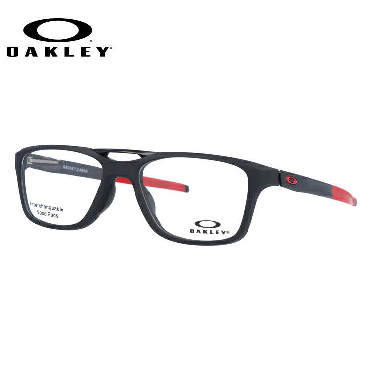 オークリー 伊達メガネ 眼鏡 国内正規品 ゲージ 7.2 アーチ TrueBridgeTechnology(トゥルーブリッジテクノロジー) OAKLEY GAUGE 7.2 ARCH OX8113-0453 53サイズ ウェリントン メンズ レディース