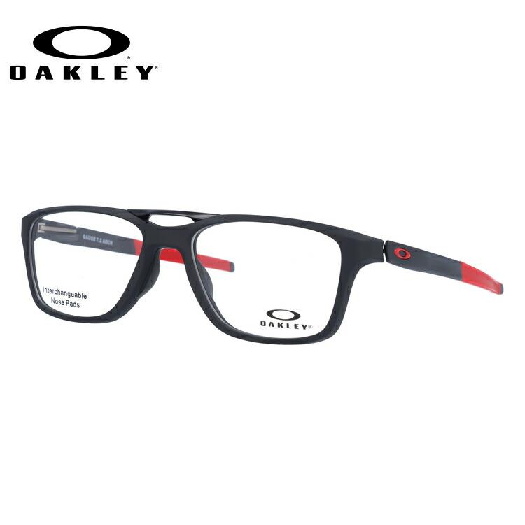 オークリー 伊達メガネ 眼鏡 国内正規品 ゲージ 7.2 アーチ TrueBridgeTechnology(トゥルーブリッジテクノロジー) OAKLEY GAUGE 7.2 ARCH OX8113-0455 55サイズ ウェリントン メンズ レディース