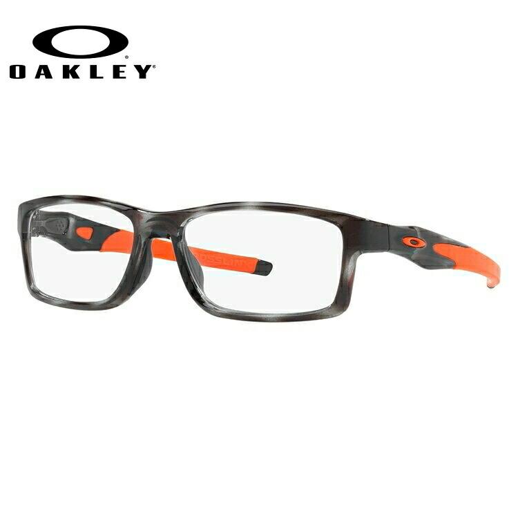 オークリー 伊達メガネ 眼鏡 国内正規品 クロスリンク MNP TrueBridgeTechnology(トゥルーブリッジテクノロジー) OAKLEY CROSSLINK MNP OX8141-0356 56サイズ スクエア メンズ レディース