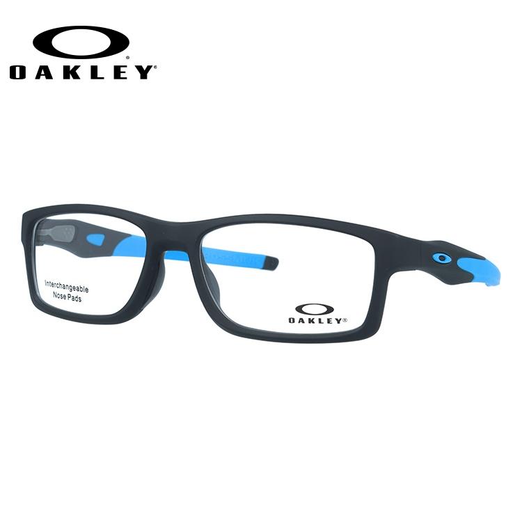 オークリー 伊達メガネ 眼鏡 国内正規品 クロスリンク MNP TrueBridgeTechnology(トゥルーブリッジテクノロジー) OAKLEY CROSSLINK MNP OX8141-0456 56サイズ スクエア メンズ レディース
