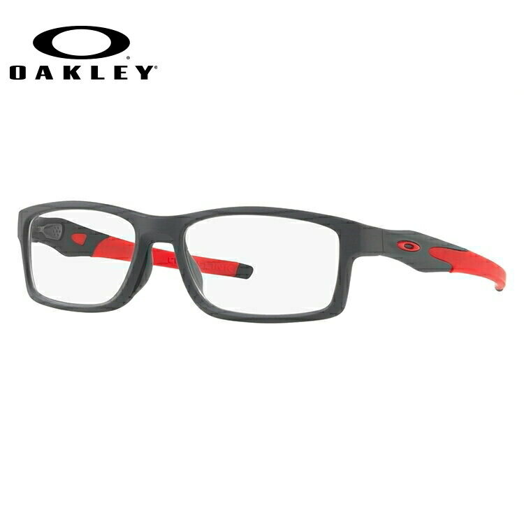 オークリー 伊達メガネ 眼鏡 国内正規品 クロスリンク MNP TrueBridgeTechnology(トゥルーブリッジテクノロジー) OAKLEY CROSSLINK MNP OX8141-0556 56サイズ スクエア メンズ レディース