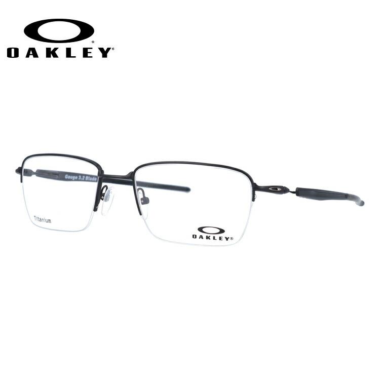 オークリー 伊達メガネ 眼鏡 国内正規品 ゲージ 3.2 ブレイド OAKLEY GAUGE 3.2 BLADE OX5128-0152 52サイズ スクエア メンズ レディース