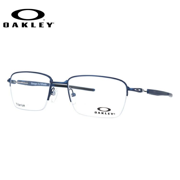 オークリー 伊達メガネ 眼鏡 国内正規品 ゲージ 3.2 ブレイド OAKLEY GAUGE 3.2 BLADE OX5128-0352 52サイズ スクエア メンズ レディース