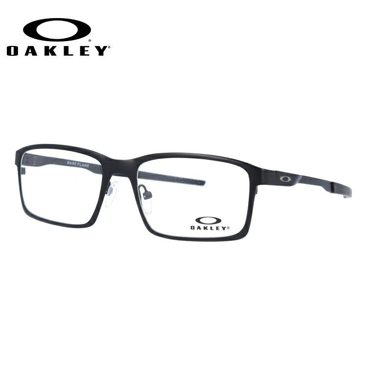 メガネ 度付き 度なし 伊達メガネ 眼鏡 オークリー ベースプレーン OAKLEY Base Plane OX3232-0154 54サイズ スクエア型 メンズ レディース UVカット 紫外線【海外正規品】