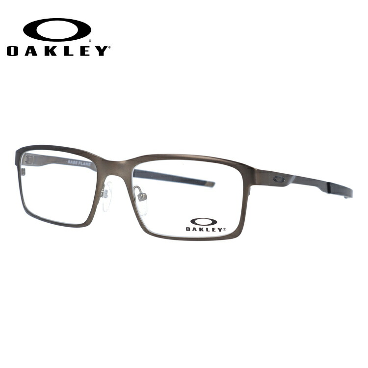 オークリー 眼鏡 国内正規品 ベースプレーン 伊達メガネ OAKLEY Base Plane OX3232-0252 52サイズ スクエア メンズ レディース