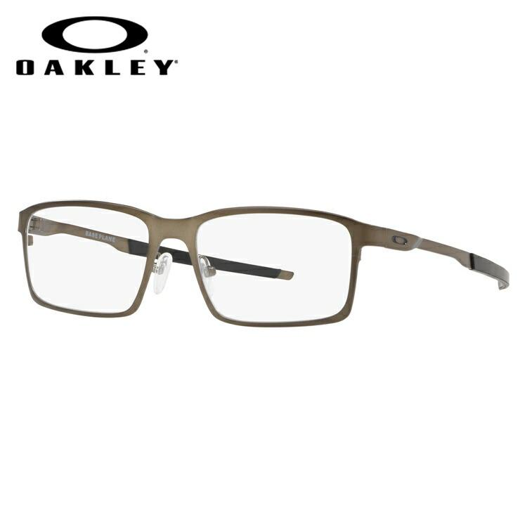 オークリー 眼鏡 2018新作 国内正規品 ベースプレーン 伊達メガネ OAKLEY Base Plane OX3232-0254 54サイズ スクエア メンズ レディース